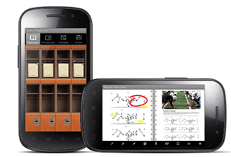 Digital Playbooks for Android Tablets