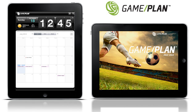 GamePlan App for iPad
