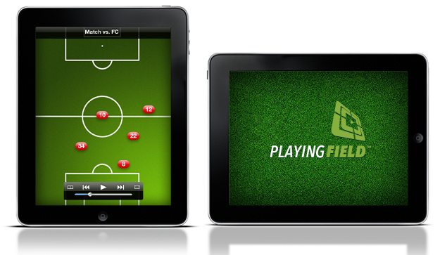 PlayingField App on iPad
